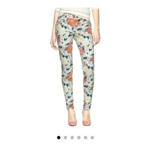 Gap Jeans. Floral print